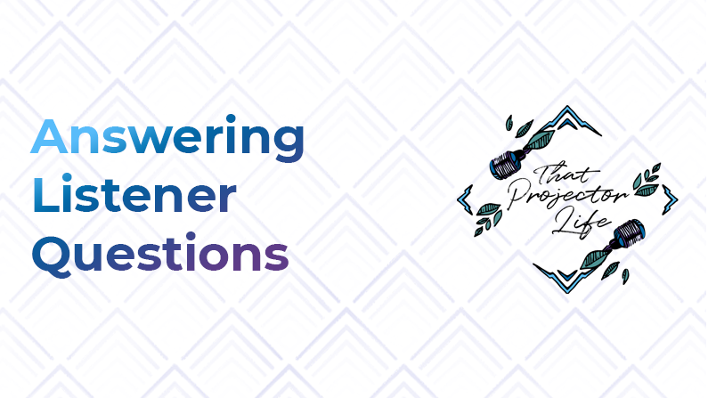 26. Answering Listener Questions